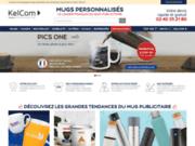 screenshot http://www.mugs-publicitaires.com mugs publicitaires - tasses personnalisées