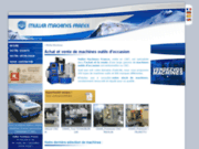 screenshot http://www.mullermachines.fr muller machines :machines outils d'occasion