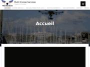 screenshot http://multidronesservices.fr/ prise de vue aerienne drone