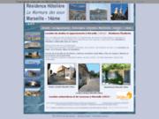 screenshot http://www.murmure-des-eaux.com Résidence étudiante Marseille 14ème