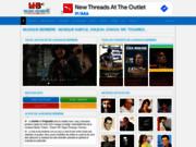 screenshot http://www.music-berbere.com musique berbere: kabyle, rifain, chaoui, chleuh...