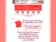 screenshot http://musiciennes-pour-votre-mariage.over-blog.com votre messe de mariage en musique