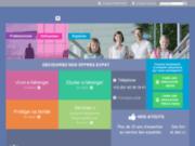 screenshot http://www.mutuelle-expatries.com/ assurance santé expatrié