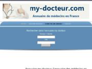 screenshot http://www.my-docteur.com annuaire des médecins