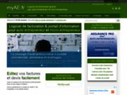 screenshot http://www.myae.fr myae - logiciel de facturation pour autoentreprise