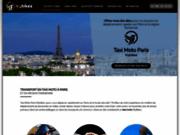 screenshot http://www.mybikes.fr taxi moto paris