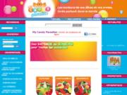 screenshot http://www.mycandyparadise.com my candy paradise : vente de bonbons en ligne
