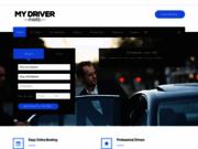 screenshot https://www.mydriverparis.com/fr Chauffeur privé