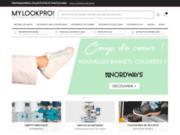 screenshot https://www.mylookpro.com MyLookpro.com Boutique en ligne de vêtements de travail