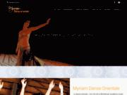 screenshot http://www.myriamdanse.com myriam danse orientale