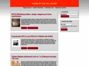 screenshot http://www.nada.fr/ escaliers métalliques, croskillette et conteneurs