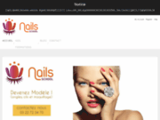 screenshot http://www.nails-school.com formation prothésiste ongulaire