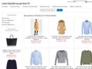screenshot http://www.nantesbrocante.fr brocante débarras de maison nantes