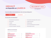 screenshot http://www.naterum.fr Pharmacie en ligne