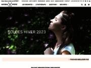 screenshot http://www.natural-mystic-shop.com Bijoux lithothérapie