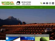screenshot http://www.natureetconfort.fr/ les puits de lumière naturelle Solatube
