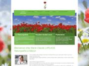 screenshot http://www.naturopathie-fleursdebach-71.com naturopathie bourgogne