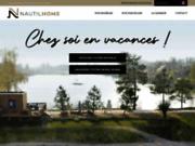 screenshot http://www.nautilhome.fr/ Mobilhome