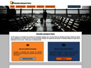 screenshot http://www.navette-aeroport-paris.com navette aeroport paris