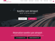 Liaison Lyon aéroport St Exupéry