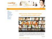 screenshot http://www.nellalearning.com apprendre l'espagnol en ligne