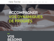 screenshot http://www.neofacto.fr neo facto