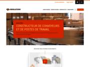 screenshot http://www.neolution-sas.com/ Convoyeur