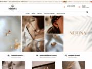 Nerina Bijoux : bijoux plaqué or et argent