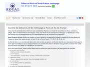 screenshot https://www.nettoyage-debarras-paris.fr/ Entreprise de débarras et nettoyage