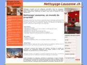 Nettoyage à Lausanne, entretien et conciergerie