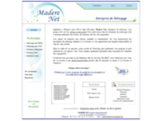 screenshot http://nettoyage-madere.net entreprise de nettoyage et d'entretien essonne 91