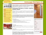 Société Nettoyage Martigny, nettoyages et conciergerie