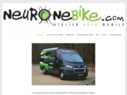 screenshot http://www.neuronebike.com Neurone Bike
