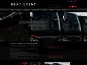screenshot http://www.next-event.org/agence_evenementielle.html next-event: agence événementielle cannes monaco nice
