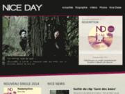 Site officiel du groupe de rock Nice Day