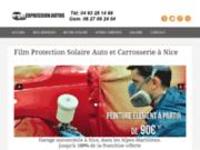 Film Solaire Protection Auto & Carrosserie à Nice