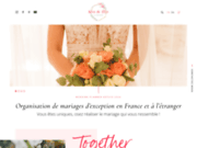 screenshot http://www.nocedereve.fr weding planner - organisation de mariage