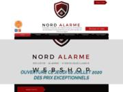 screenshot http://nord-alarme.com Nord Alarme