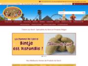 screenshot http://www.norddomicile.com produits du terroir du nord