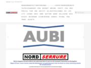 screenshot http://nordserrure.fr vente serrures toutes marques dépositaires