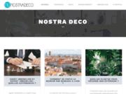 screenshot http://www.nostradeco.fr/ Décoration d'intérieur