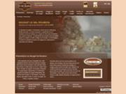 screenshot http://www.nougat-valroubion.com/ le val roubion, le fabriquant du nougat de montéli
