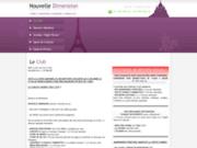 screenshot http://nouvelledimension.free.fr nouvelle dimension