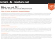 screenshot http://www.numero-de-telephone.net/ portabilité du numéro