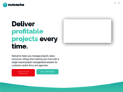 Logiciel de gestion de projet en ligne - Nutcache