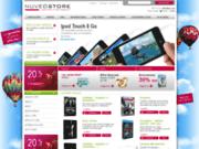 screenshot http://www.nuveostore.com high-tech à prix discount