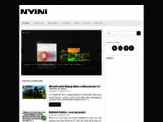 Nyini, blog geek