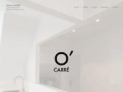 screenshot http://www.o-carre.fr atelier o'carré - architecture d'intérieur