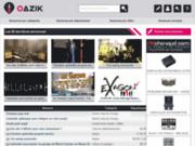 screenshot http://www.oazik.com oazik