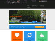 screenshot http://objectifpropreteparis.com/ entreprise de nettoyage paris